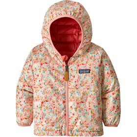 Patagonia Baby Reversible Down Sweater Hoody Untamed Ditsy: Pink Opal